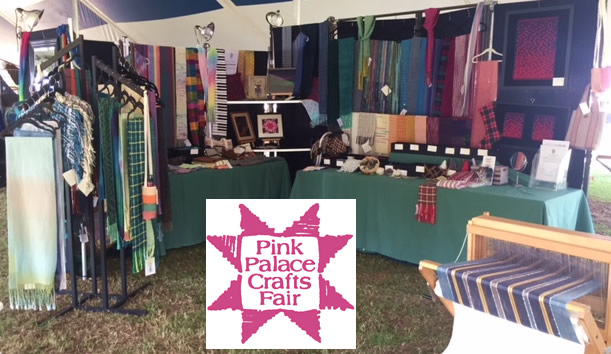 MGHW booth at the 2019 Pink Palace Crafts Fair